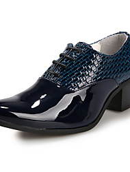 Oxfords ( Cuero , Negro/Azul/Blanco Zapatos de hombre