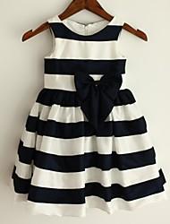Princess Knee-length Flower Girl Dress - Taffeta Sleeveless
