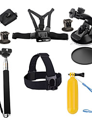 Accessories For GoPro,Monopod Tripod Case/Bags Screw Buoy Suction Cup Straps Hand Grips/Finger Grooves Mount/HolderFor-Action Camera,