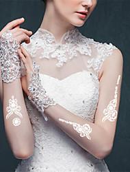 5Pcs Waterproof White Beautiful India Temporary Body Art Tattoo Sticker