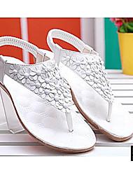 Sandalias Como la Imagen )- 0-3cm - Tacón plano para Zapatos de mujer