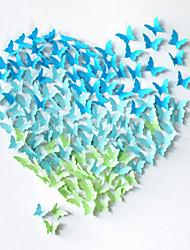 20pcs 3d papillon décoration Stickers muraux stickers muraux de mariage