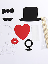 8 Sets Of Interesting Birthday Party Welcome  Wedding Pictures Props Lips