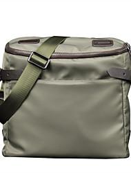 cuero genuino diseño único oxford maletines de tela bolso del negocio bolsas solo hombro mensajero originales