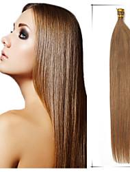 note 5a 1pc / lot 20inch / 50cm multicolores fusion droite / i lève extensions de cheveux cheveu humain tisse 100s / pack 1g / s