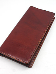 Men's Leather Fashion Multi-function Card Package