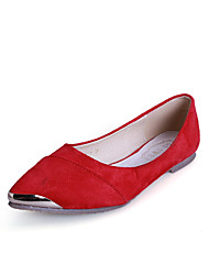 Women's Shoes Suede Flat Heel Comfort / Pointed Toe / Closed Toe Flats Dress / Casual More Colors Available