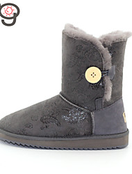 MG Sheepskin Real Fur 100% Wool Women's Winter Snow Boots