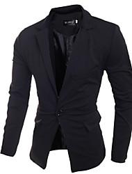 Men's Fashion One Button Coat