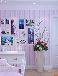 nouvelle rainbow ™ bande de papier peint contemporain mur de papier peint rose couvrant art mural non-tissé de tissu