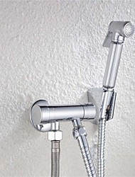 Bathroom Woman Bidet Faucet Chrome Brass Tap Copper Hand Sprayer Filling Valve