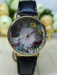 Women's Floral Watch,  Floral Pattern,Women's Watch,Analog,Students Flower Watch Wristwatch Cool Watches Unique Watches