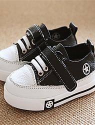 Baby Shoes - Casual - Sneakers alla moda - Di pelle - Nero / Bianco
