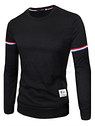 Men's Long Sleeve T-Shirt , Cotton Sport