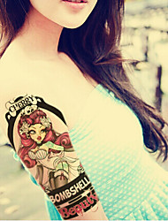 2015 Latest Version High Quality Creative Fashion Waterproof One-Time Tattoo Stickers ——Cherry Beauty