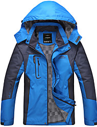 Men's Long Sleeve Jacket , Polyester Casual/Work/Sport jackets waterproof breathable mountaineering