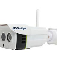suneyes extérieur SP-p701w HD 720p caméra IP sans fil avec slot SD / TF (wifi, l'audio bidirectionnel, ir 25m, ONVIF)