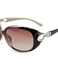 Sunglasses Women's Elegant / Fashion / Polarized Oversized Black / Champagne / Brown / Dark Red Sunglasses Full-Rim