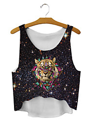 Women's Galaxy Tiger Tank Top