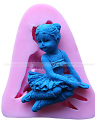 Angel Girl Shape Fondant Mold Cake Decoration Mold