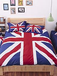 4pcs cama queen size veludo sets lençóis edredons lençol da cama de linho têxtil-lar
