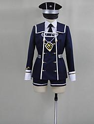 Cosplay Costumes - Outros - Outros - Top/Camisa/Shorts/Larga/Gravata/Meias/Mais Acessórios