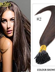 """Qualitäts-Förderung 100pcs / set 100g leicht i kippte Haarstock-Haarverlängerungen 18 """"-28"""" Zoll mehreren Farben auf Lager"""