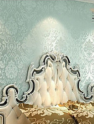 novo papel de parede retro rainbown ™ floral retro clássico parede azul que cobre a arte de não-tecidos da parede da tela