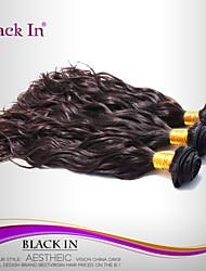 "3 Pcs Lot 12""-30"" Brazilian Natural Wave Virgin Hair Wefts Dark Brown Human Hair Weaves Tangle Free"
