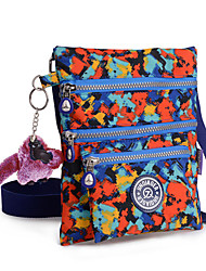 Women Lady Waterproof Shoulder Bag Nylon Zipper Messenger Bag Mini Bag