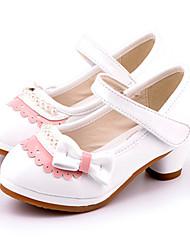 høje hæle ( Rosa/Hvid ) - GIRL - Rund tå
