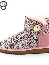 MG 2015 New Arrive Women's Winter Boots Autumn Warm Twinface Sheepskin Shoes Flat Heel Boots Snow Boots