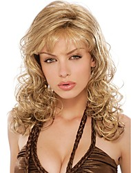 Fashion Color Hair Wigs European  Natural Wave Wigs