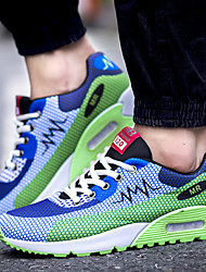 Men's Running Shoes Fabric Blue / Green / Red