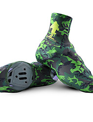 Camouflage Shoe Covers For Cycling Sports Overshoe with Zipper M-XL