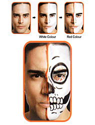 Хэллоуин составляют лица комплект краски зомби