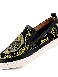 Men's Shoes Casual Fabric Loafers Blue / Yellow / White