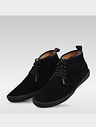 Winter Men's Shoes Casual Suede Fashion Boots Black / Blue / Brown / Gray / Khaki