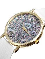 Watch Women Starry Flash Diamond Leather Watch Student Quartz Watches Montre Femme Cool Watches Unique Watches