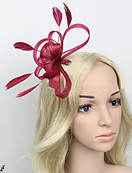 Women's Feather/Net Headpiece - Wedding/Special Occasion Fascinators 1 Piece