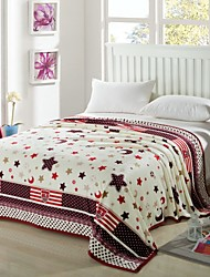 Soft 100% Coral Fleece Plaid for Bed Double Face Blanket Thickening Coral Fleece Blankets Sheets
