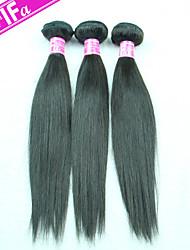 Brazilian Virgin Hair Straight Hair 3PCS/Lot Unprocessed Human Hair Weft Color 1B