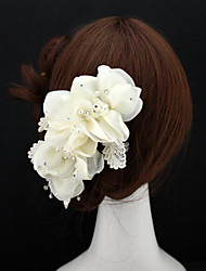 Women's Lace / Alloy Headpiece - Wedding / Special Occasion Flowers 1 Piece