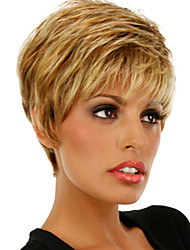 New Fashion Lady Popular High Temperature Wire Short  Blonde Wig  Can Be Very Hot Can Be Dyed Color Picture