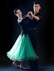 Vestidos ( Fucsia / Verde / Royal Blue , Tul / Terciopelo / Fibra de Leche , Danza Moderna ) - Danza Moderna - para Mujer