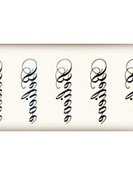 (1pcs)HC136-Believe Words New Design Fashion Temporary Tattoo Stickers Temporary Body Art Waterproof Tattoo Pattern