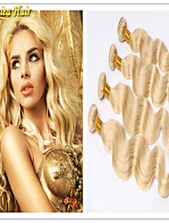 3 Pcs/Lot Hair Products Brazilian Hair Extension 613 Blonde Virgin Hair Body Wave Blonde Hair,Brazilian Virgin 3 Bundles