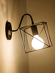 AC 100-240 MAX 60W E26/E27 Rústico/Campestre Pintura Característica for Estilo Mini,Luz de Baixo Lâmpadas de Parede Luz de parede