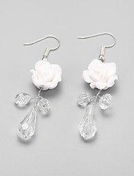 Drop Earrings Women's Alloy Earring Crystal