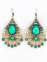 Gemstone Wholesale Chandelier Earrings